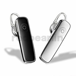 Iphone Hands Free Bluetooth Australia - M165 Bluetooth 4.0 Headset Wireless Earphone Hands-free Earbuds Sports Calls Music Earpieces for iphone 6 7 8 x samsung htc android phone