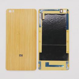 Cassa di bambù naturale della porta della copertura posteriore della batteria per xiaomi mi5 mi 5 xiaomi NOTA caso di alloggiamento del telefono del bambù trasporto libero