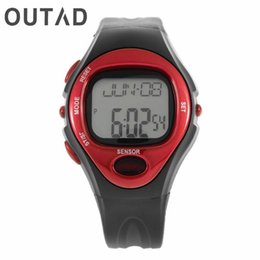 $enCountryForm.capitalKeyWord Australia - OUTAD Pulse Heart Rate Monitor Calories Counter Fitness Watch Time Stop Watches Alarm Relogio Masculino Digital Men Women 2017