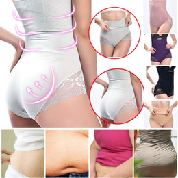 1faba5d9f13 Sexy Women Shaper Lace Control Panties Firm High Waist Body Trainer Butt  Lifter Panties Ladies Tummy Control Girdle Shaperwear