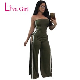 Liva Girl Camouflage Tuta Pagliaccetti Womens Tuta Army Green Playsuit Sexy Fitness Tute Combinaison Femme Catsuit Donne