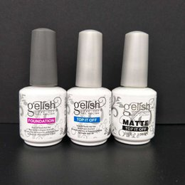 Wholesale Top Quality Soak Off Nail Gel Polish For Nail Art Gel Lacquer Led uv Gelish Base Coat