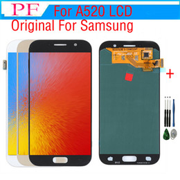 s5 screen assembly 2019 - For Samsung Galaxy A5 2017 A520 A520F A520F DS Original LCD Display Touch Screen Digitizer Assembly +Tool
