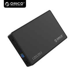 Usb Hdd Case Australia - ORICO3.5 Inch SATA to USB 3.0 Tool-Free External Enclosure   Case for 9.5mm & 7mm SATA HDD SSD-3588US3-V1 Black