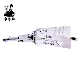 mr tools NZ - Mr. Li's Original Lishi HY16 2in1 Decoder and Pick - Best Automotive Locks Unlock Tools on the Market