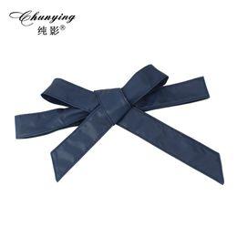 $enCountryForm.capitalKeyWord Canada - 2017 hot new fashion summer autumn wide retro female belt leather girdle dress shirt bow tie strap double ring