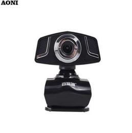 $enCountryForm.capitalKeyWord Australia - AONI Webcam Mega HD Computer PC Camera With Built-in Noise Reduction MIC For Laptop Desktop USB Drive Free Web Cam Webcameras