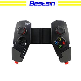 Android tv box for ipAd online shopping - Bestsin PG Wireless Bluetooth Game Controller Joystick with Stretch Bracket for iOS ipad Android Smartphone TV TV Box