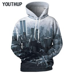 91eb7238711 YOUTHUP New 2018 Plus Size Spring Hooded Hoodies Men Long Sleeve Pullover  Sweatshirts 3D Print Modern City Fashion Men Tops