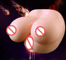 $enCountryForm.capitalKeyWord Australia - Super Male Masturbator Soft Artificial Realistic Big Breast Vagina Anus Double Channel Pussy Adults Masturbation Sex Toy For Men