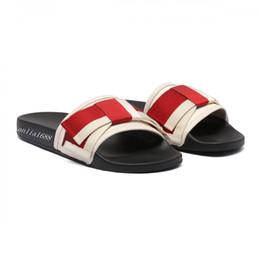 1417f79a853cc 2018 mens and womens fashion bow Satin slide sandals slippers boys girls outdoor  beach causal flat flip flops
