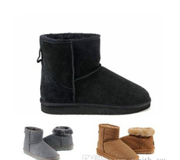 $enCountryForm.capitalKeyWord UK - Hot Winter Snow Boots Classic Women Warm Mini Boot Christmas Ladies Minis Shoes Chestnut Chocolate Grey Black Sale