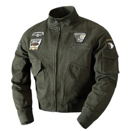 $enCountryForm.capitalKeyWord Australia - 2017 Autumn Winter Men Bomber Flight Jackets One Ma01 Flight Pilot Coon Jackets Men Large Size M-4XL
