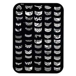 $enCountryForm.capitalKeyWord NZ - Fashion Manicure Template Nail Art Image Stamping Stamp Stencil Alloy Plate Tool
