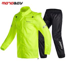 motorcycles rain suit Australia - Motorcycle Raincoat Suit Impermeable Outdoor Sport Motocross Racing Ventilate Raincoat Suit Motorcycle Rain Suits MOTOBOY Poncho