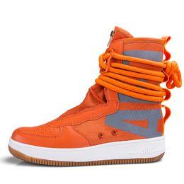 f17c863106 Diseñador de Hip Hop Zapatos para hombre Zapatos casuales Hombres Tenis  Sapato masculino Heren Schoenen Zapatillas altas Zapatillas de baloncesto  Hombre ...