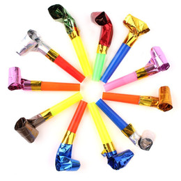 $enCountryForm.capitalKeyWord NZ - Creative Birthday Party Noise Maker Cheer Props Childrens Funny Whistles Colorful Blowing Dragon Blowout Toys High Quality 06oy aa