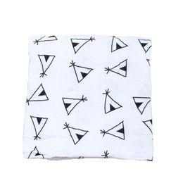 $enCountryForm.capitalKeyWord NZ - New design infant swaddle car seat blanket newborn 100% cotton muslin swaddle blanket for baby wrap