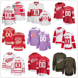 d411564e8 Youth detroit jerseYs online shopping - Custom Jersey Men Women Youth Kid  Winter Classic Detroit Red