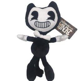 3 style cool toys bendy and the ink machine plush toys 30cm soft anime bendy stuffed animals dolls kids christmas gifts t468 - Cool Christmas Toys