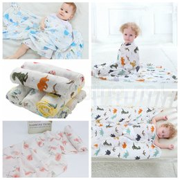 Infant stroller cover online shopping - 115 cm Styles Bamboo Cotton Baby Blanket Muslin Swaddle Wrap Soft Thin Newborn Blankets Infant Stroller Cover Play Mat AAA818