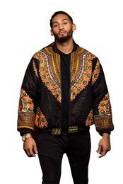 Men folk online shopping - DARSJU2018 Indie Folk Mens Jacket Coat Dashiki African Printed Bomber Jacket Outerwear Coats