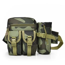 DIDA BEAR 2017 Men Canvas drop waist bags Chest pack bag for work  Multifunction Shoulder Bag Black Khaki Camouflage bottle bags 433977d4daae4