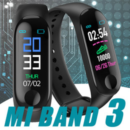 Watches bracelets online shopping - M3 Smart Band Bracelet Heart Rate Watch Activity Fitness Tracker pulseira Relógios reloj inteligente PK fitbit XIAOMI apple watch