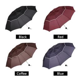 $enCountryForm.capitalKeyWord NZ - Big Top Quality Umbrella Men Rain Woman Windproof Large Paraguas Male Women Sun 3 Folding Big Umbrella Outdoor Parapluie -