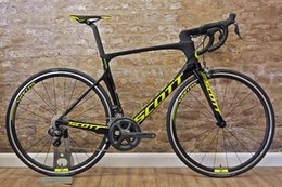 $enCountryForm.capitalKeyWord Australia - With 105 R7000 groupset SCOTT Foil complete bicycle full carbon bike frames 50mm carbon wheels 23mm width Novatec A271 Hubs Free shipping