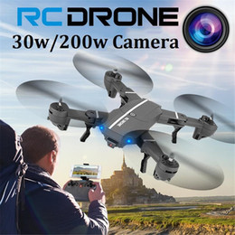 Rc Fpv Camera NZ - 2017 WIFI 8807 Foldable Mini Drone With Camera HD Selfie Drone RC Quadrocopter Helicopter Aircraft RC Quadcopter FPV Dron