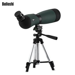 Binoculars Bak4 online shopping - Beileshi x70 Spotting Scope Telescope Monocular Bak4 Prism with Tripod