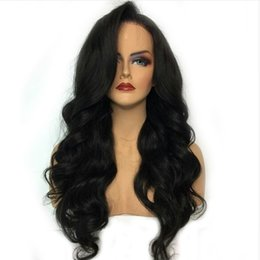 light brown body wave 2019 - Human Hair Lace Front Wigs Wigs Brazilian Body Wave Wig For Black Women Wet And Wavy Full Lace Brazilian Hair Virgin Sid