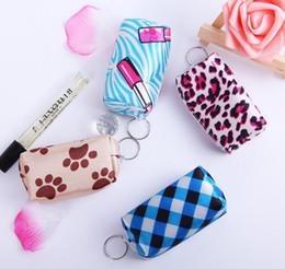 $enCountryForm.capitalKeyWord NZ - Grils Key Pouch zip Wallet Coin Bag keychain Fashion wallet Portable Coin Purse Carrying Zipper Bag Pouch Pocket Case