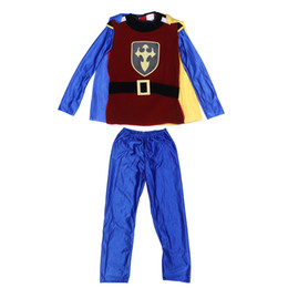 masquerade costumes for kids NZ - 1PCS Costumes Unique Creative Durable Decorative Boy Prince Clothing for Kids Party Masquerade