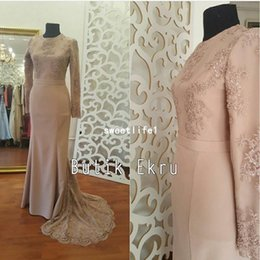 evening dress trumpet embroidery NZ - 2019 New Blush Pink Evening Dresses Embroidery Appliques Mermaid Sweep Train Formal Occasion Prom Dresses Party Gown Custom Made