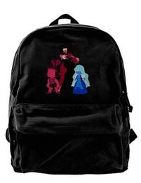$enCountryForm.capitalKeyWord UK - Steven Universe Canvas Shoulder Backpack Unique Backpack For Men & Women Teens College Travel Daypack Black