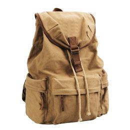 Yellow Camera Bag UK - Canvas Vintage DSLR SLR Camera Shoulder Case Backpack With Waterproof Special Position For Notebook Computer