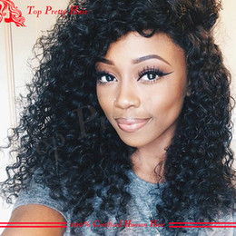 Full lace wig beyonce online shopping - Virgin Brazilian Beyonce Curly Wigs Glueless Full Lace Wigs Curly Remy Human Hair For Black Women With Natual Hairline