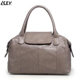Organizer Bags Totes Canada - Organizer fashion classic women's genuine leather handbags large capacity messenger bag high quality boston tote bags OL office