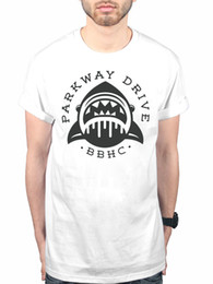 Shark T Shirts For Men NZ - Official Parkway Drive Shark BBHC New Unisex T-shirt Metalcore Band Merch T-Shirt Casual Short Sleeve For Men Clothing Summer