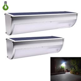 Motion sensor wall lights outdoor online shopping - New Garden Solar Light lm lm IP65 Outdoor Motion Sensor Light with modes LED Wall Lamp For Garden Path Outdoor