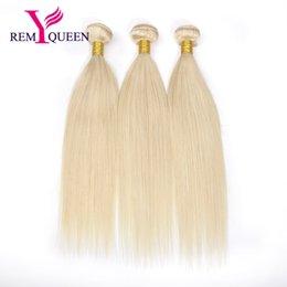 Blond human hair online shopping - Dream Remy Queen Malaysian Human Hair A Grade Honey Blond Color Straight Hair Bundles Wefts A g pc