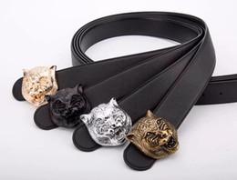 China 2018 Hot fashion new Big buckle designer belts men high quality mens belts luxury men designer leather belt free shipping cheap wide black leather belts suppliers