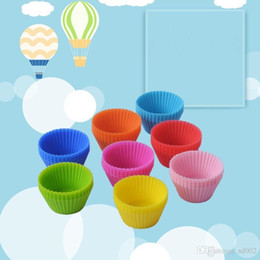 $enCountryForm.capitalKeyWord Australia - Cute Mini Silicone Muffin Cup Cake Moulds Round Baking Molds High Temperature Resistant Nonstick Cupcake Mould Eco Friendly 0 37mr ZZ
