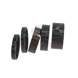 Bike light kits online shopping - LURHACHI quot mm mm mm Ultra Light Carbon Fiber mm Marble Glossy Washer Road Bike Mountain Bicycle Headset Stem Spacer Kit