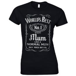 eb8f346f2eef2 Женская тройник лучшая мама в мире дамы установлены футболка День матери  подарок № 1 Смешные мамы подарок