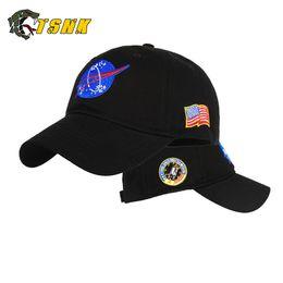 China TSNK Cotton Baseball Cap Embroidery