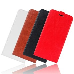 China Retro Crazy Horse Flip Leather Case For OPPO R17 Alcatel 7 Huawe Mate20 Lite Redmi NOTE6 Xiaomi Pocophone F1 Card Slot Phone Cover 10pcs suppliers