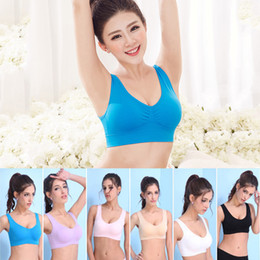 Genie Bras Australia - 3pcs set Women Bras Seamless Genie Bra Wonder Bra  with Removable Pads 8584f9041